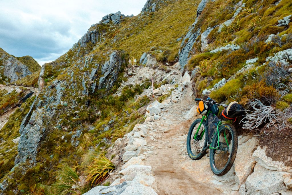 New Zealand Old Ghost Road mountain biking trail