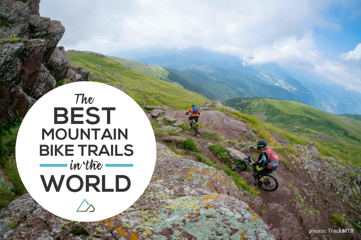 The world's best mountain biking spots
